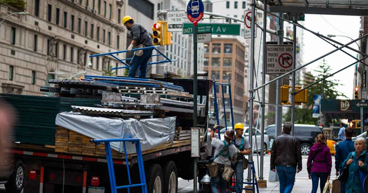 Sidewalk Canopies: Protecting the Public in Formwork and Shoring