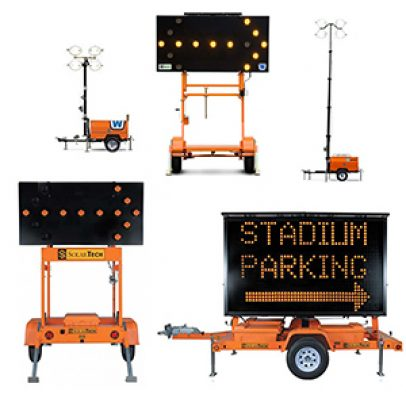 Light Towers & Message Boards