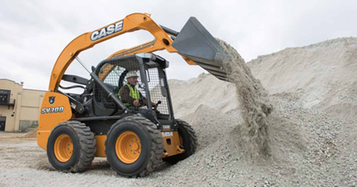 New CASE SV300 Skid Steer Loaders For Sale by Trekker Group