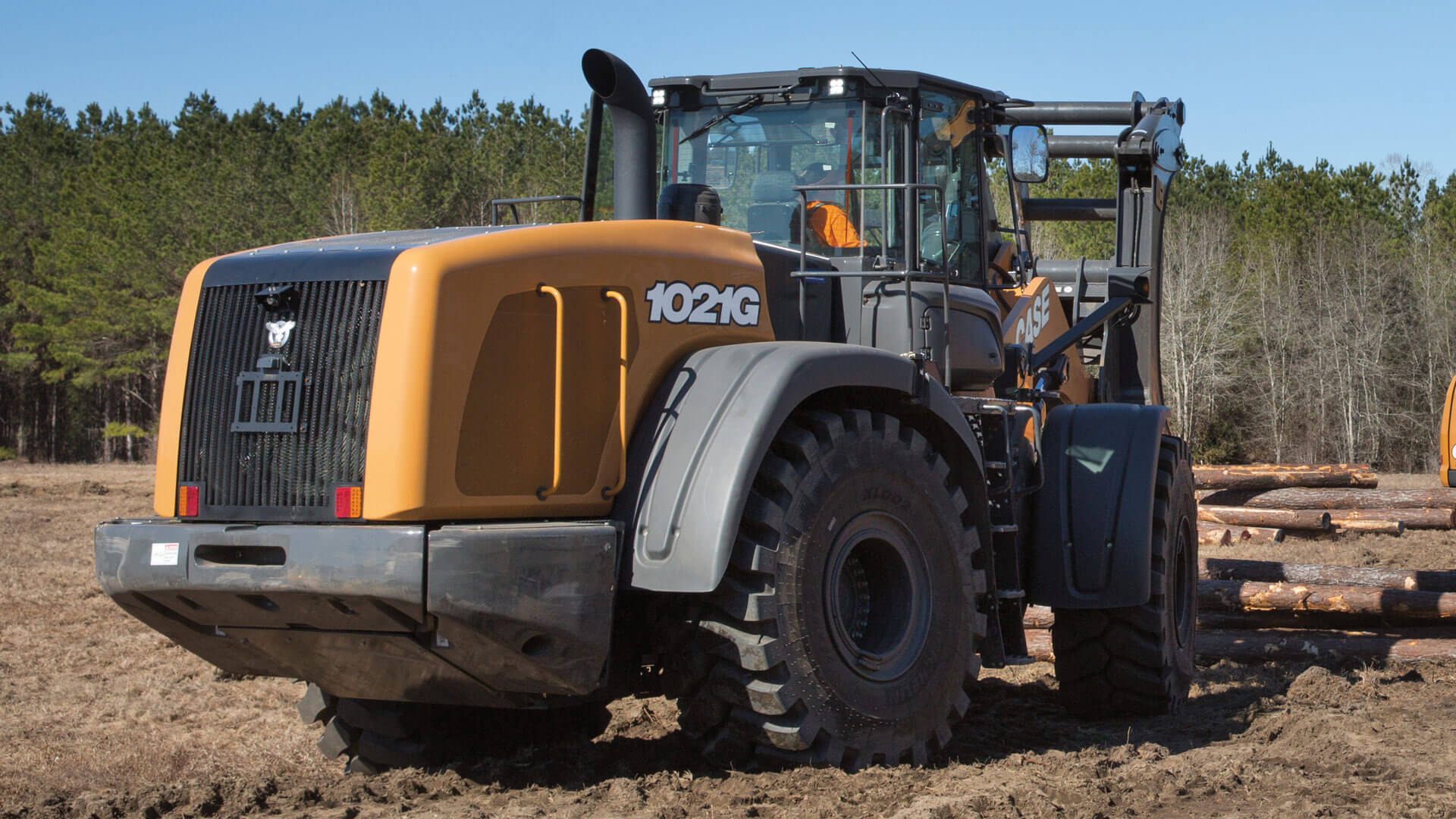 CASE 1021G Wheel Loader