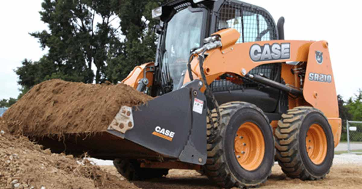 7 Types of Tires for Skid-Steer Loader Work