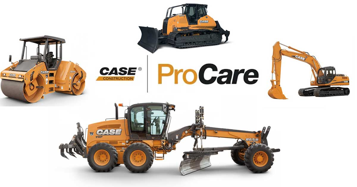 CASE ProCare: Industry-Leading Product Support Comes Standard