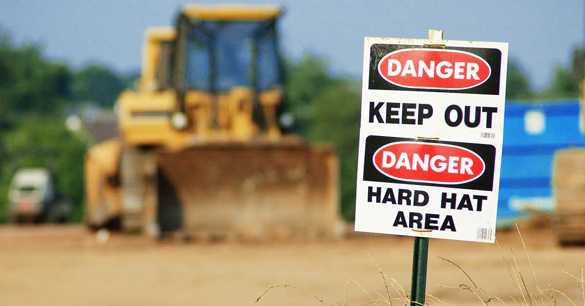 Caught-In and Caught-Between Hazards at Construction Sites