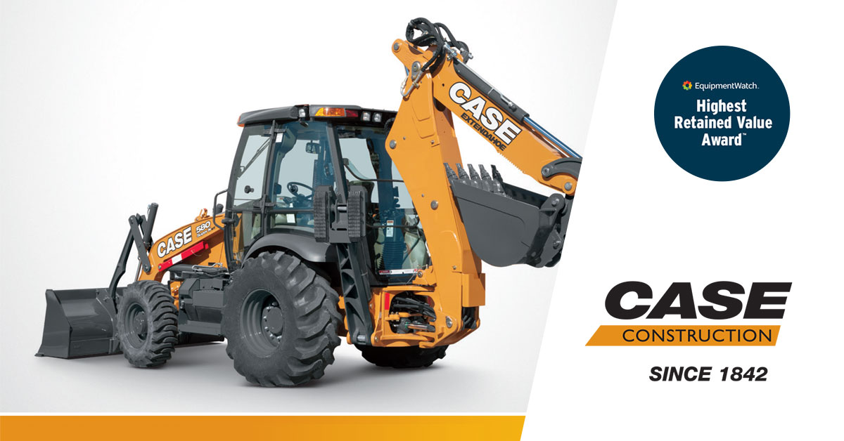Some Awards CASE Construction Equipment Won in 2019