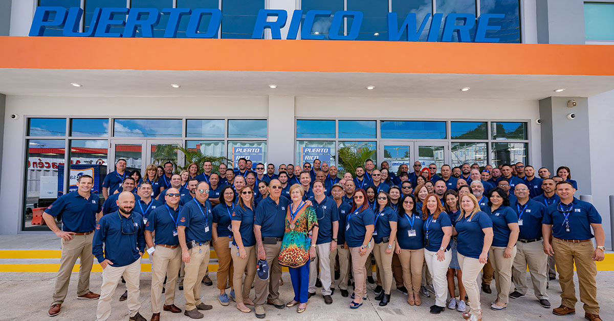 Trekker's Puerto Rico Wire Division Celebrates Its 65th Anniversary!