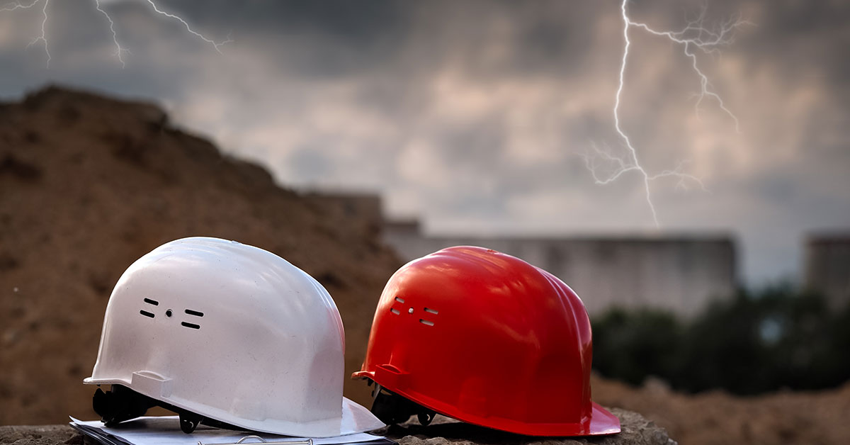 Top Tips for Lightning Safety at the Construction Site