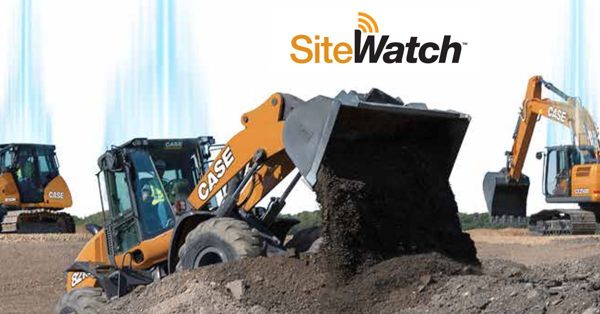 CASE Releases New SiteWatch Telematics Platform