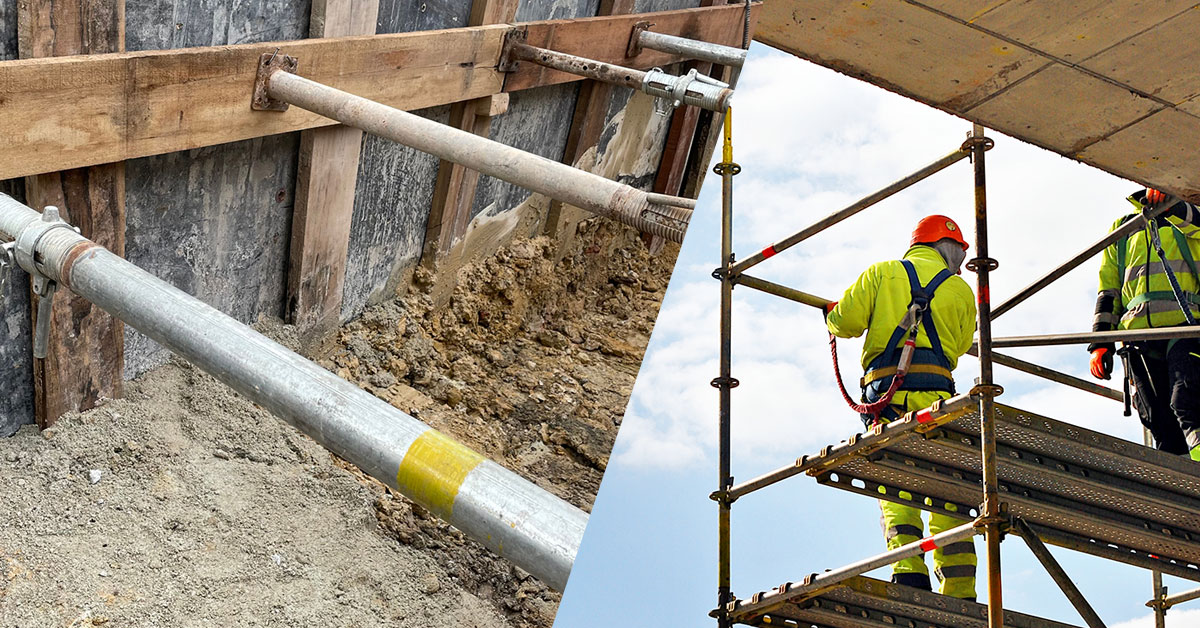 What's the Difference Between Scaffolding and Shoring?
